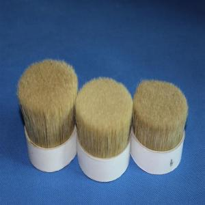 China double  Boiled pig Bristles 60%~90% for paint brush for artist brush on sale