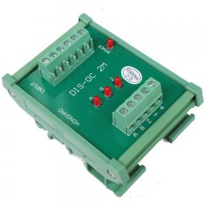 China 3 Channels Differential TTL into Collector 24V HTL Signals Converter for PLC NPN or PNP on sale