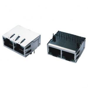 China El puerto doble Rj45 protegió los conectores de Cat5e para el eje del USB/el interruptor de red on sale