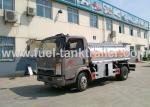 Light Chassis Fuel Oil Truck , Heacy Duty Fuel Transport Trucks  Single Cabin