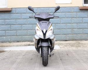 China 12 Front Disc And Rear Drum Brake 50cc Adult Motor Scooter With Trunk on sale