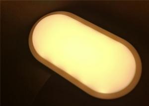 China 15 Watt LED Wall Light Modern Oval Internal Warm White 3000K Outdoor Lighting on sale