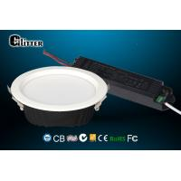 China 12 Watt Downlight LED Emergency Downlight With 2 In 1 Design Emergency Driver on sale