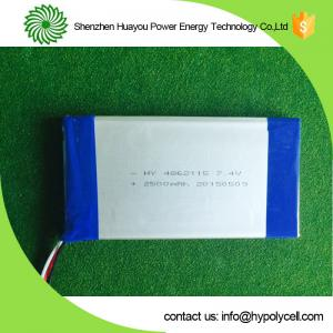 China Garden Light 7.4V 2500ma Solar Energy Battery  Rechargeable on sale