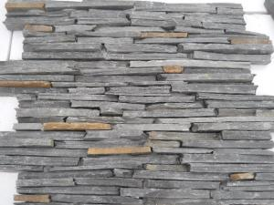 China Black Culture Stone /Wall Stone Venner/Slate Culture Stone /Venner Stone /Wall Panel on sale