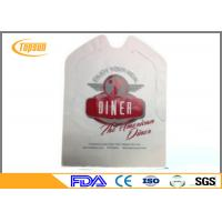 China Polyethelene PE Disposable Crab Bibs Aprons For Adult / Kids Waterproof on sale