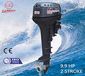 China outboard motors 9.9hp 2-stroke , 15hp , 25hp , 30hp , 2-stroke . 2.5hp , 4hp, 6hp 4-stroke on sale