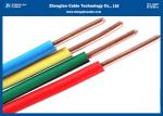 BVR Electrical Wires And Cables Single Hard Core Solid / Stranded Conductor Type
