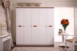 China custom make modern big wall mounted wardrobe furniture on sale