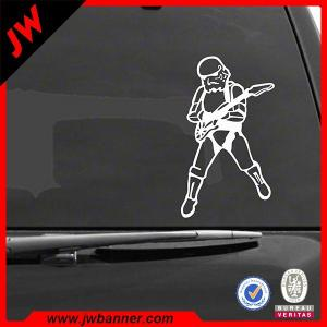 China Customized sticker design for motorcycle advertisement with UV protection on sale