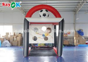 China PVC Tarpaulin Inflatable Soccer Batting Cage Football Speed Tent 2.5*3.5*3.6m on sale