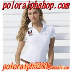 wholesale Cheap Ralph Lauren women s Cotton Polo pony T-shirts shirt outlet b385774e32
