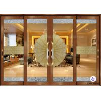 China Security Aluminum Window And Door With Double Tempered Glass 4mm on sale
