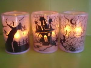 China LED flashing tea-light Christmas LED candle Indoor decorated Halloween LED candle Flamless LED candle on sale