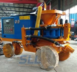 China 7-8m3/H Air Consumption Cement Spray Machine , Durable Wet Mix Shotcrete Machine on sale