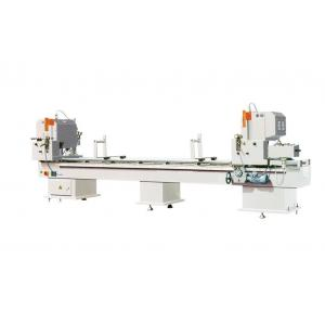 China Low noise UPVC Window Machine , Digital Display Double Mitre Saw for Vinyl Profile on sale