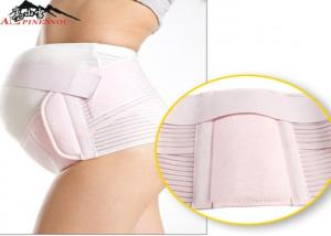 China Breathable Postpartum Belly Wrap , Abdomen Girdle Maternity Back Support Belt on sale