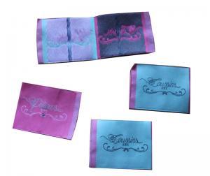 China Etiquetas tejidas durables para la ropa, etiquetas del nombre de la ropa de la tela para los zapatos on sale