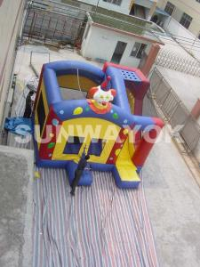 China Safety Clown Inflatable Combo Bouncers bounce house For amusement park on sale