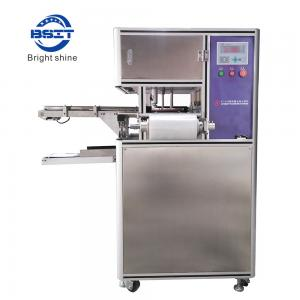 China high speed HT-980A  soap wrapping packing line by one convery belt on sale
