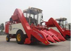 China Corn harvester,4YZ-3E corn combine harvester 115HP,Corn harvester threshing machines. supplier