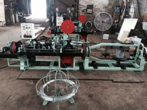 China Direct Factory Straight and Reverse Twisted Barbed Wire Machine on sale