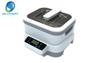 China 1.2L Detachable Portable Household Ultrasonic Cleaner for Jewelry , Touch Key Control on sale