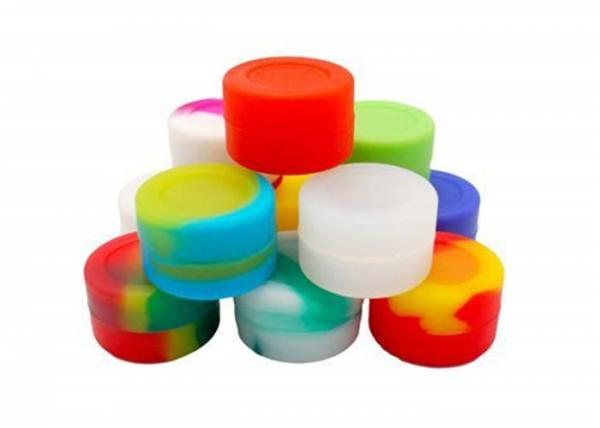 BPA Free 7ml Food Grade Silicone Containers , Easy Cleaning
