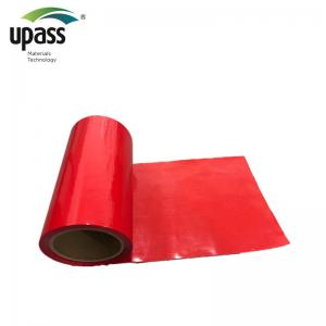China DS Red HDPE Silicone Coated Release Liner For Foam Tapes on sale