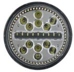 Union Jack style 7 Inch Round Led Headlight For Wrangler JK headlamp driving headlights Halo White DRL(6W) & Yellow Turn