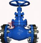 Industrial OS&Y Globe Valve Rising Stem Hardfaced 300LB Flanged / BW