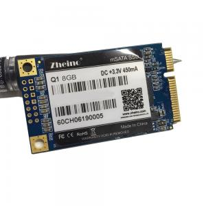 China Mini PCIE mSATA Solid State Drive SSD 8GB 3.3V Input For Tablet Motherboard on sale