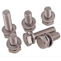 A2-70 Stainless Steel Hex Bolt With Nut And Washer Size M4-M48 DIN933