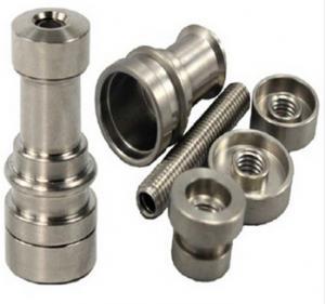 China Gr2 infinity titanium nail domeless newest titanium domeless nail on sale
