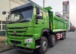 Mining Site Heavy Duty Dump Truck ZZ3317N2867C1 8x4 Tipper Truck With Strong Power 336HP
