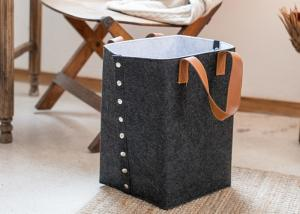 China Multi Color Double Layer Felt Storage Cube Custom Size For Laundry on sale