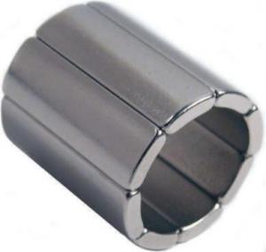 China permanent N52 arc-segment neodymium ndfeb magnet for security systems on sale