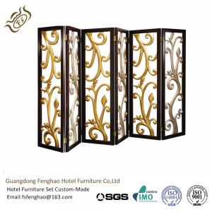 China Ss Decorative Perforated Freestanding Room Divider For Hotel Lobby on sale