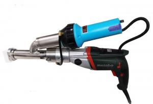 China 3400W plastic welding hand extruder hot air gun, extrusion hot air welding gun on sale