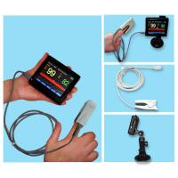 Digital Fingertip Pulse Oximeter Vehicle Convenient Operation With Touch Screen