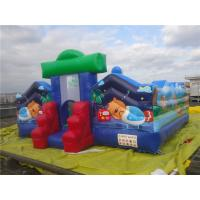 Mini Inflatable Amusement Park / Inflatable Castle with Full Digital Printing