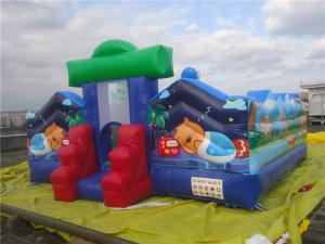 China Mini Inflatable Amusement Park / Inflatable Castle with Full Digital Printing on sale