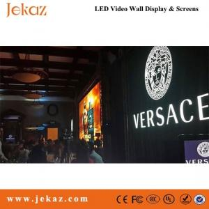 China JEKAZ stage background LED video wall indoor P6 rental usage LED video wall on sale