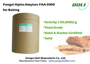 China Industrial Bakery Bread Enzymes High Activity  , Non - GMO Fungal Alpha Amylase on sale