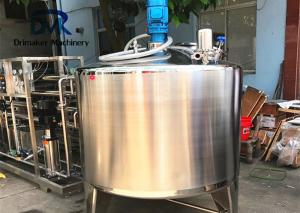 China SUS 304 Liquid Process Equipment Juice Beverage Mixing  Blending Tank on sale