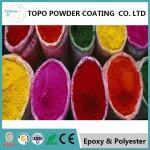 RAL 1003 Decorative Powder Coating For Metal Security Door Smooth Texture
