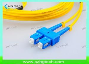 China SC/LC/FC/ST 2mm Patch Cord, PVC/LSZH Outer Jacket,G652D Fiber Optical Cable on sale