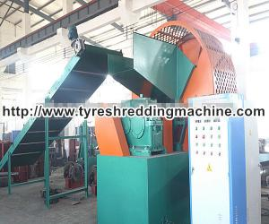 China Scrap Tire Recycling Machine / Tyre Waste Recycling Plant CE Approved on sale