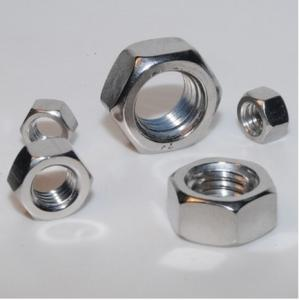 China Stainless Steel Hex Nuts, Hardware Fasteners Nuts And Bolts on sale