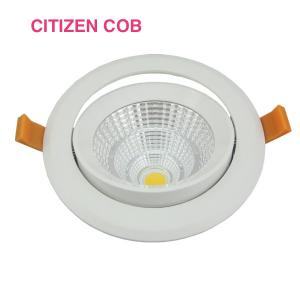 China CRI 80 Home Office 15W Recessed LED Ceiling Lights , Beam Angle 25° / 60° on sale